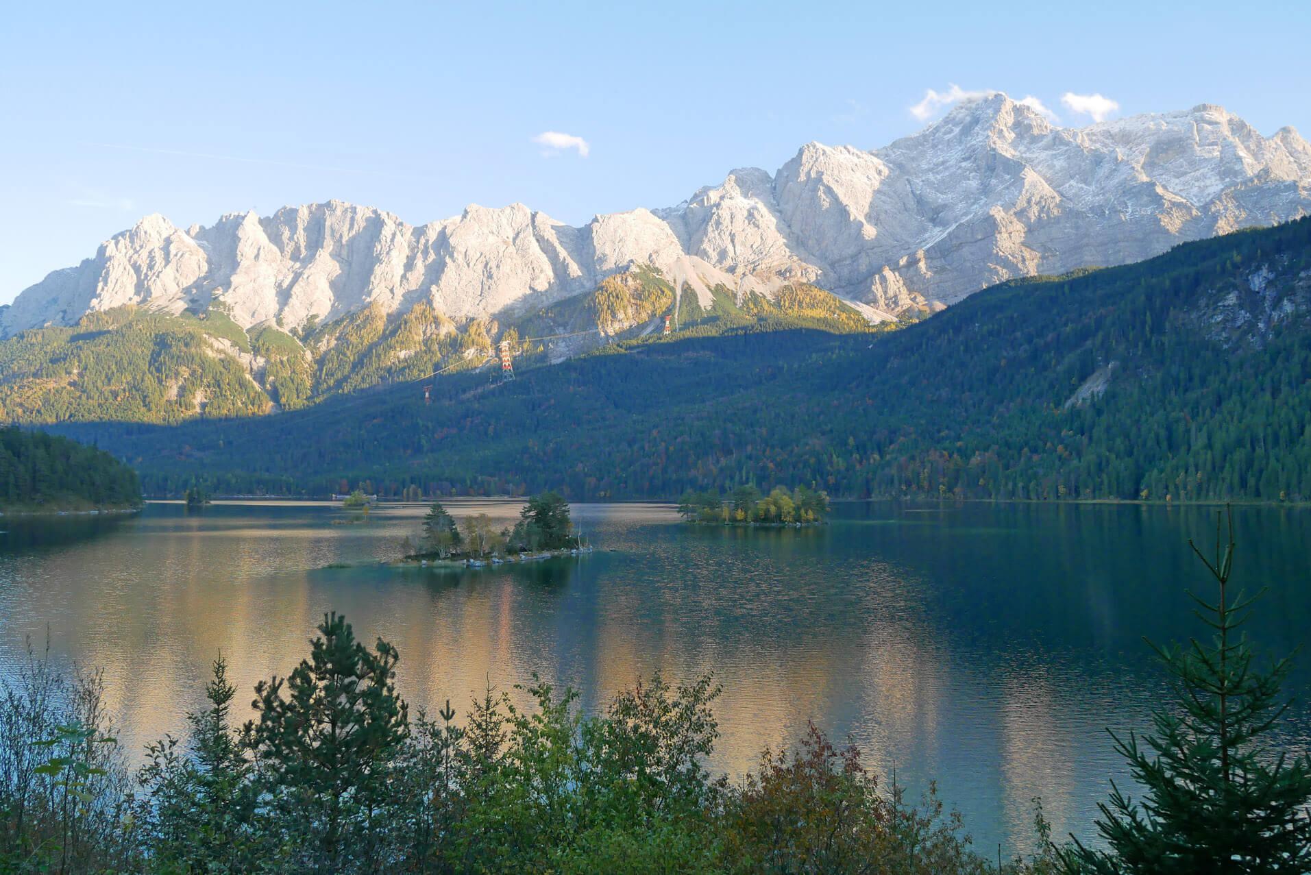Eibsee Gebirge
