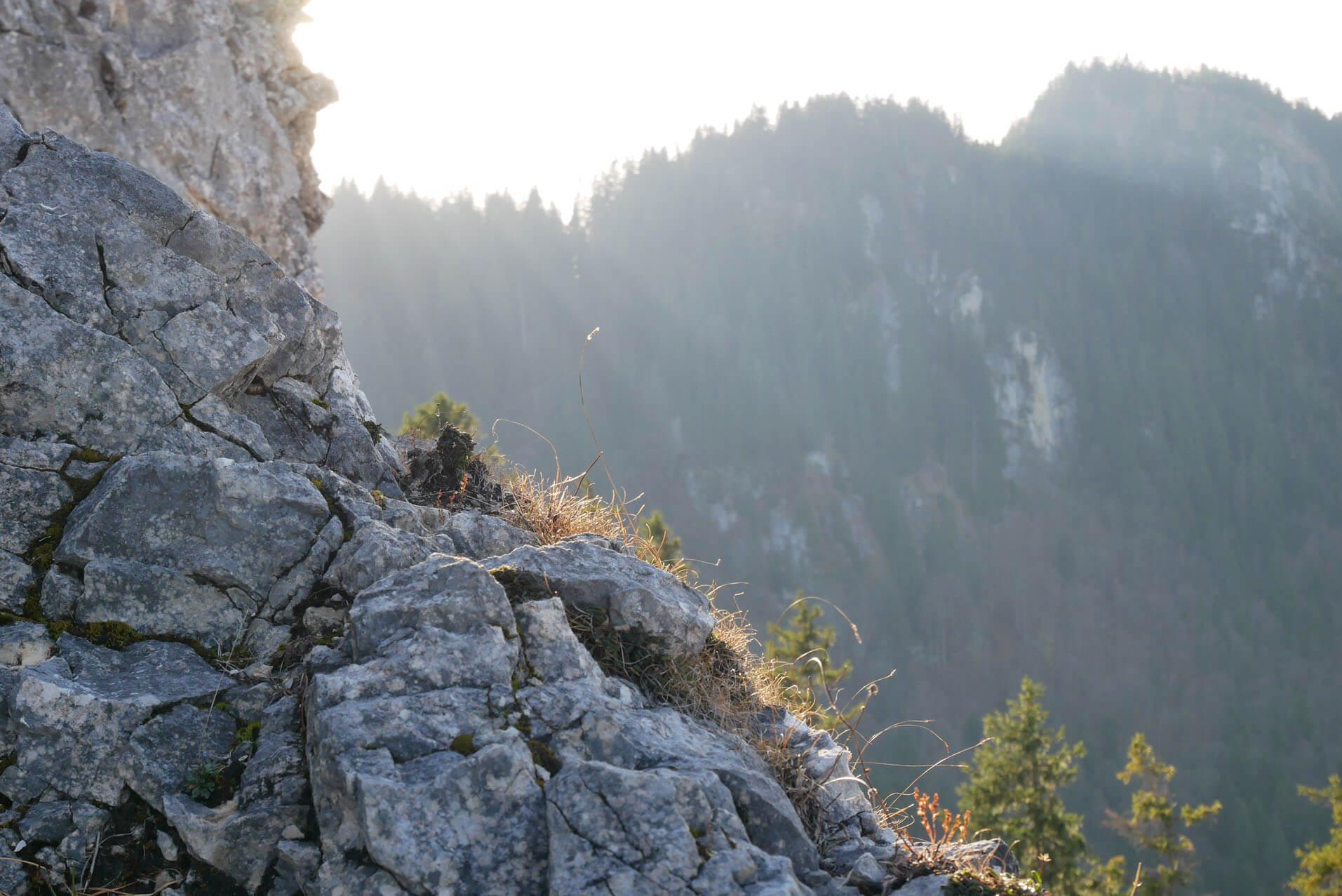 Kofel Gipfel Gestein