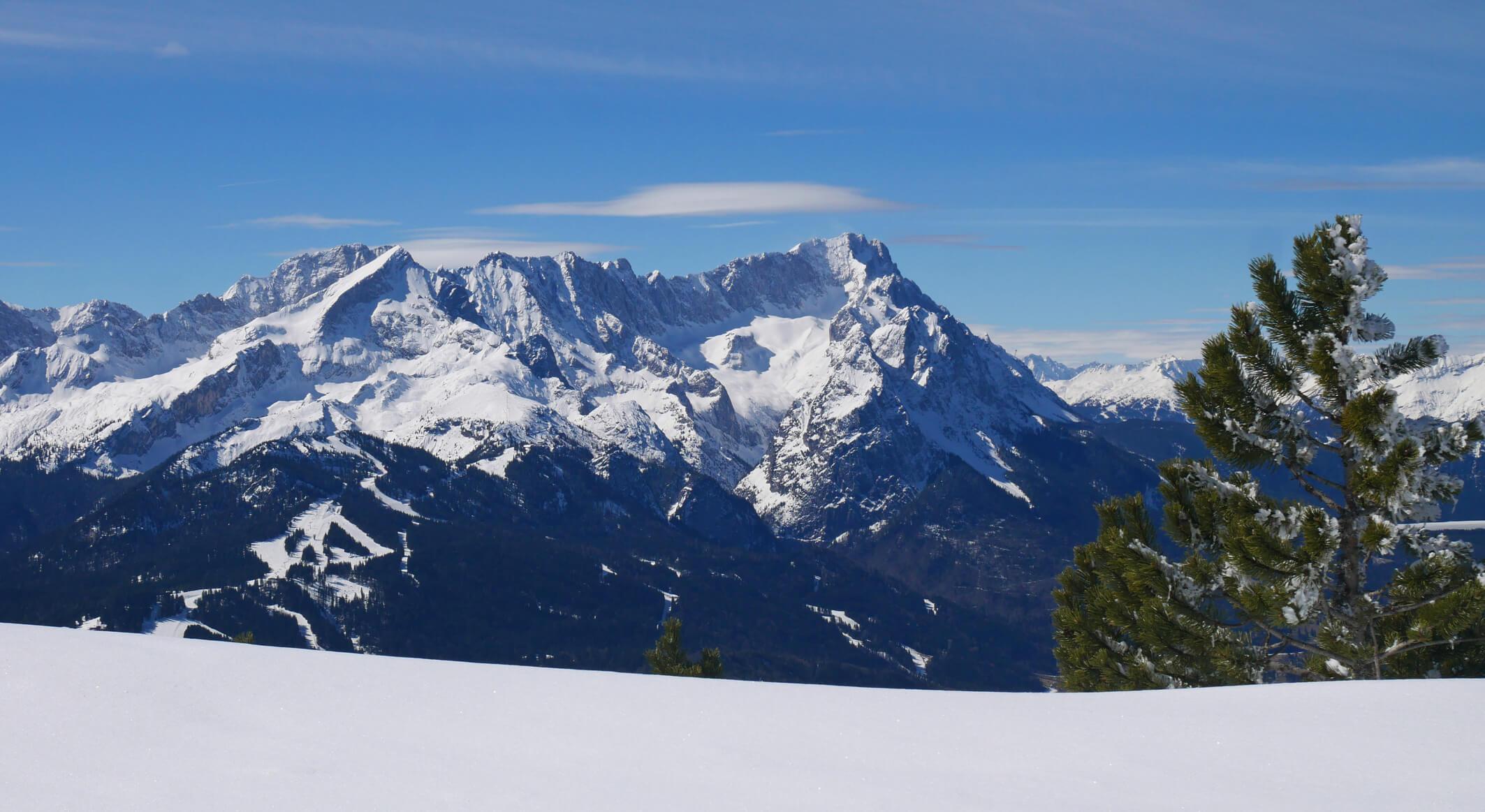 Wettersteingebirge vom Wank