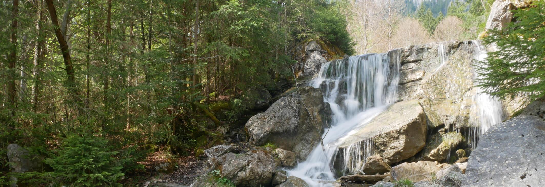 Brunnenkopf Linderhof Wasserfall