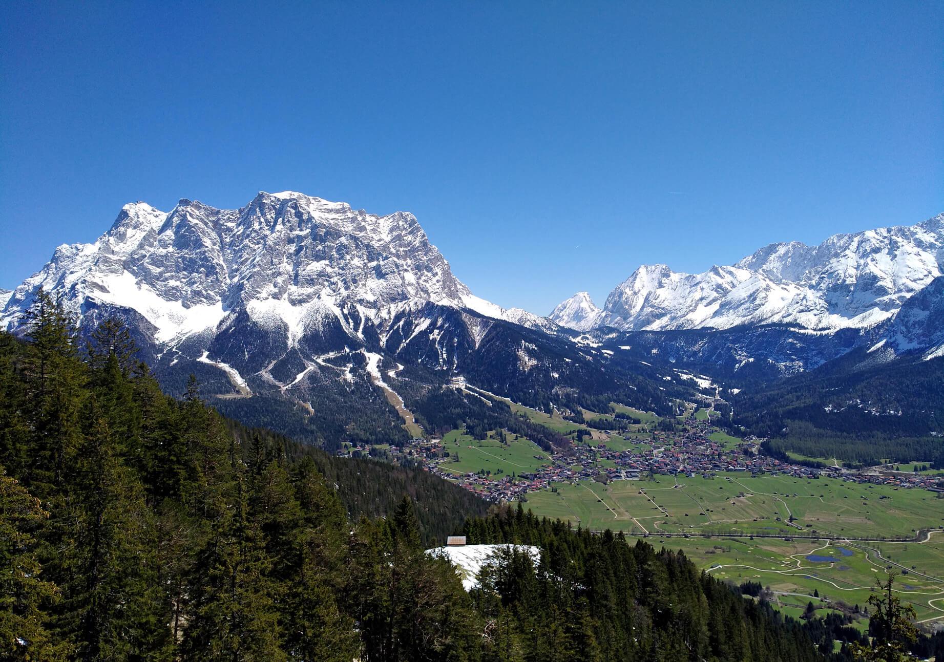 Zugspitze Ehrwald Tuftl Alm