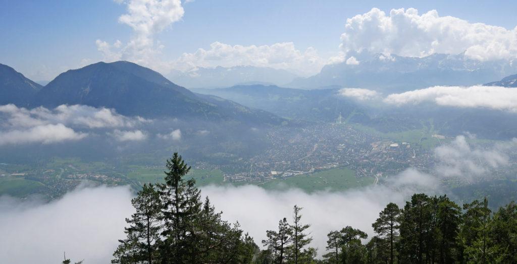 Ausblick Königsstand Kramer Garmisch