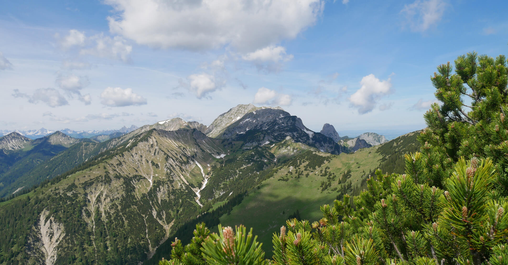 Ausblick Scheinbergspitze Ammergauer Alpen