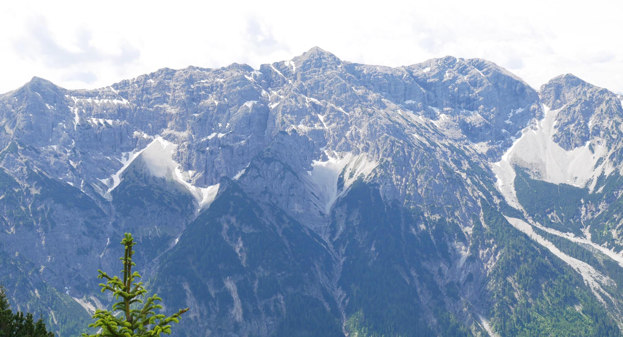 Ausblick Scheinbergspitze Gebirge