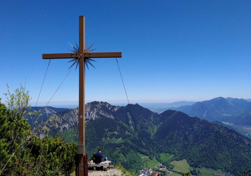 Ziegelspitze Ettal Gipfel