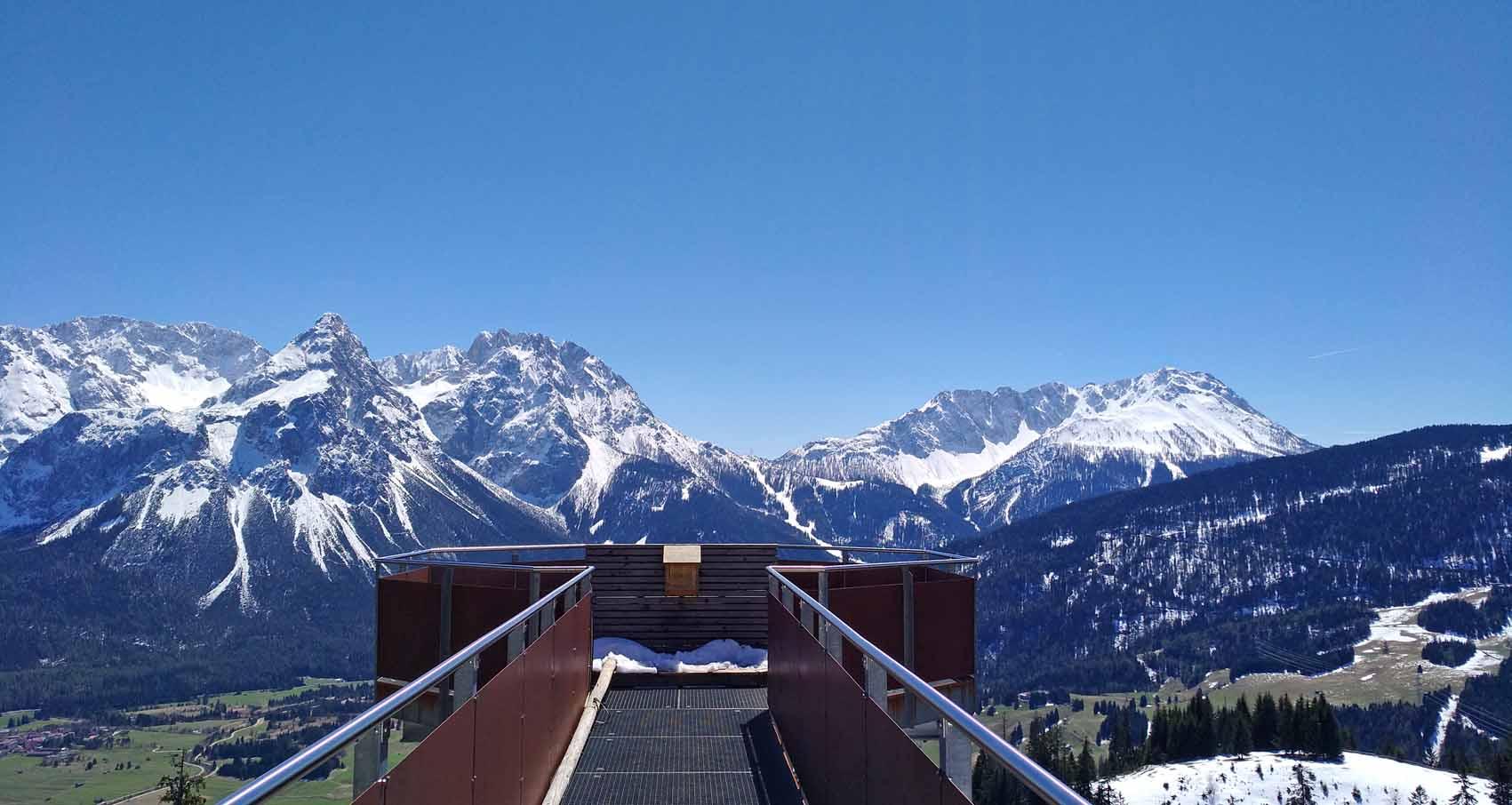 Aussichtsplattform Tuftl Alm Ehrwald