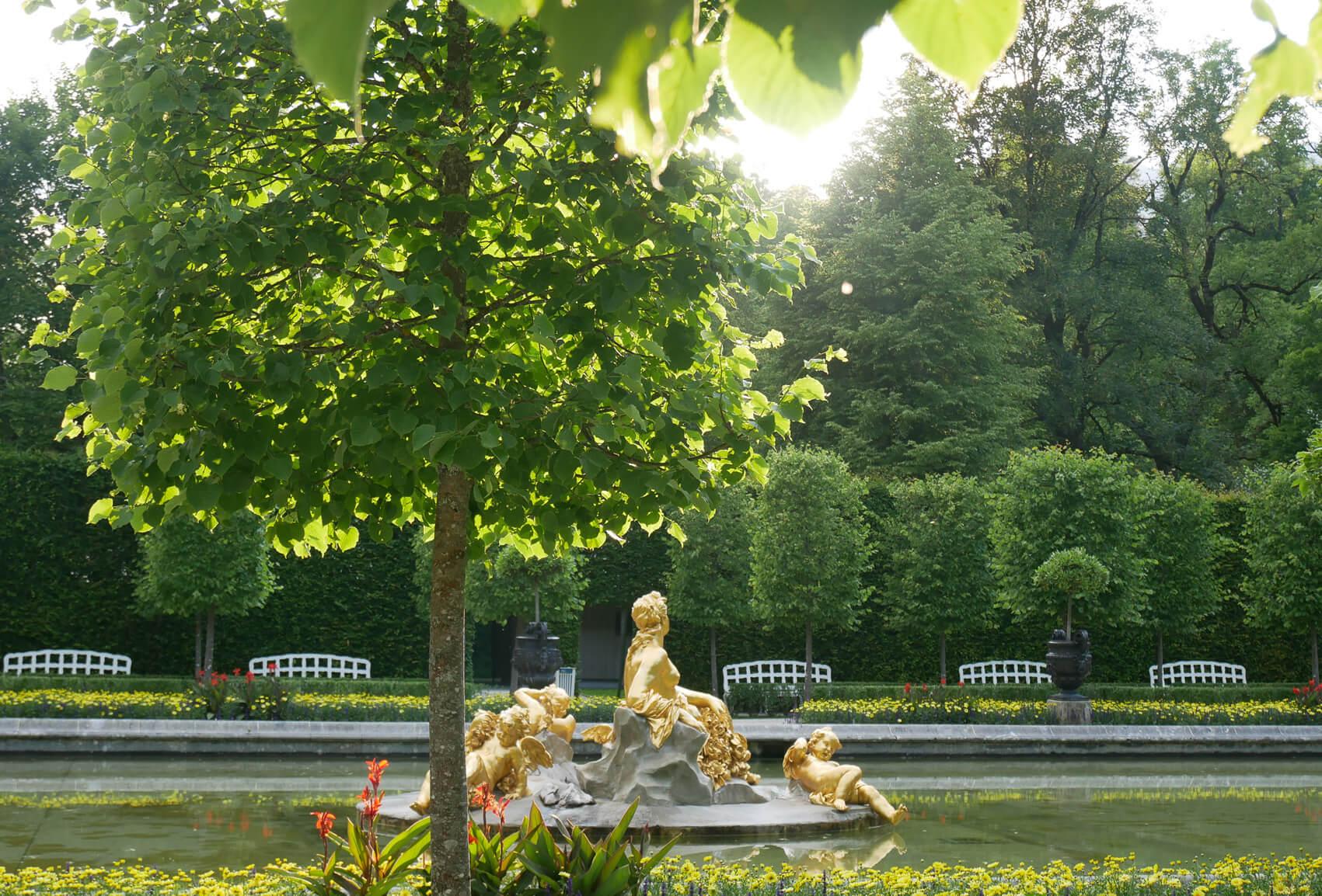 Linderhof Brunnenfiguren