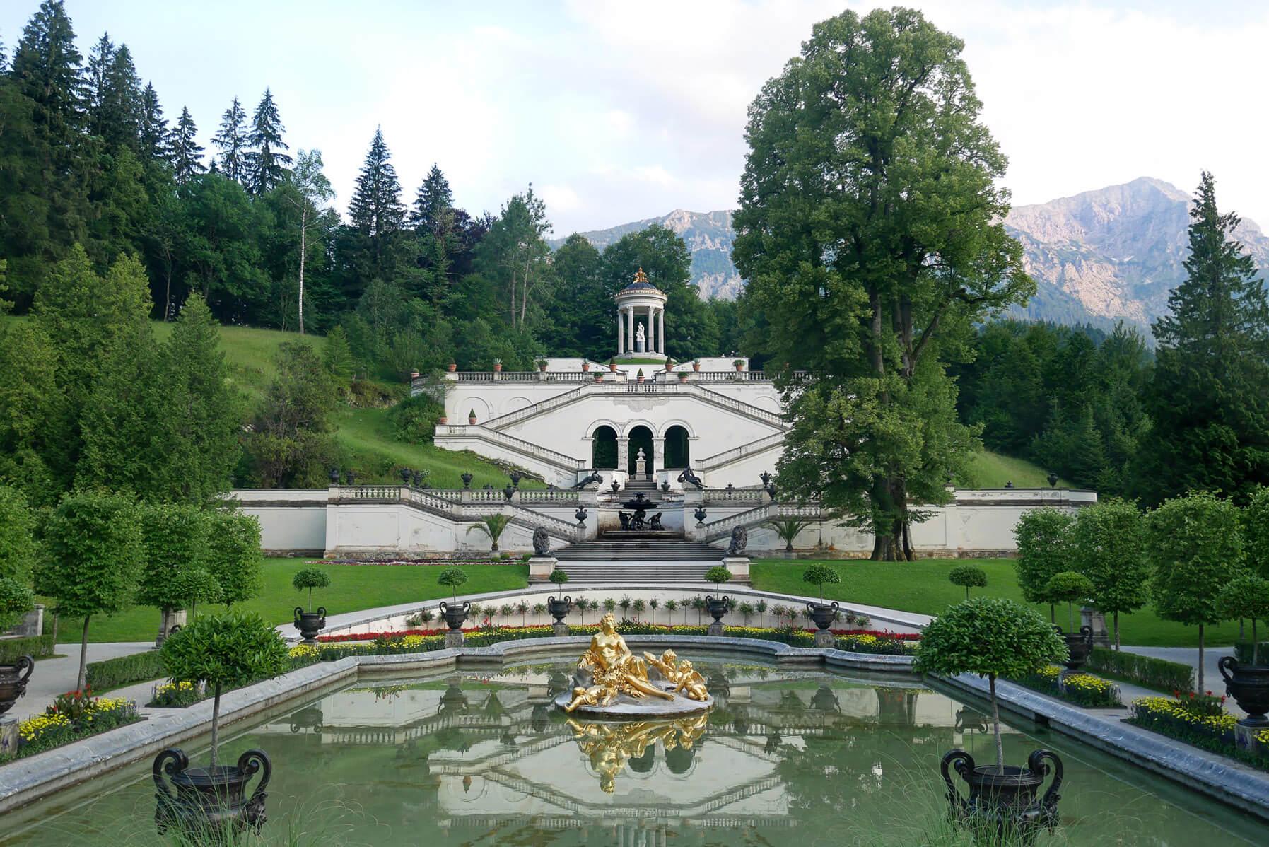 Linderhof Schlosspark Venustempel