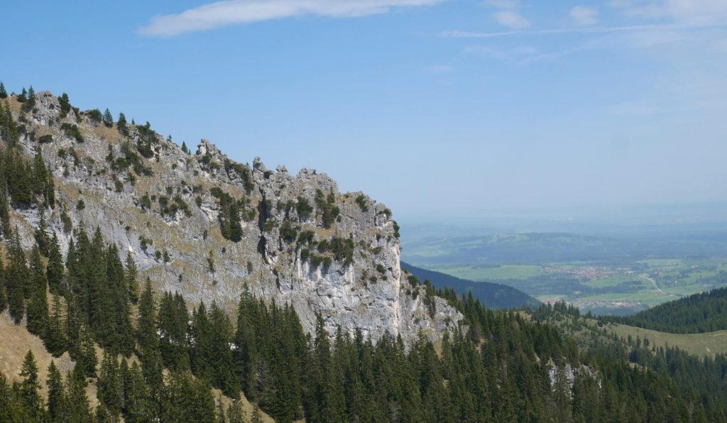 Pürschling Ausblick ins Tal
