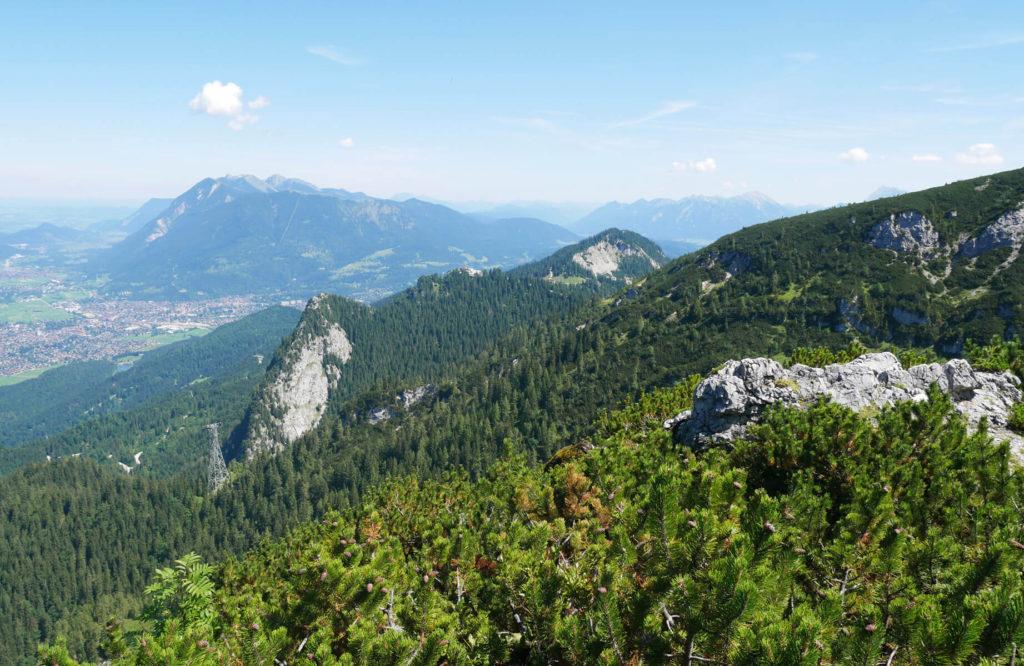 Ausblick Schwarzenberg Garmisch