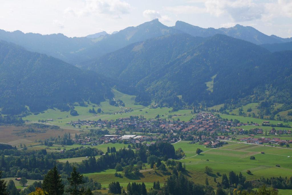 Hörnle Unterammergau Ausblick