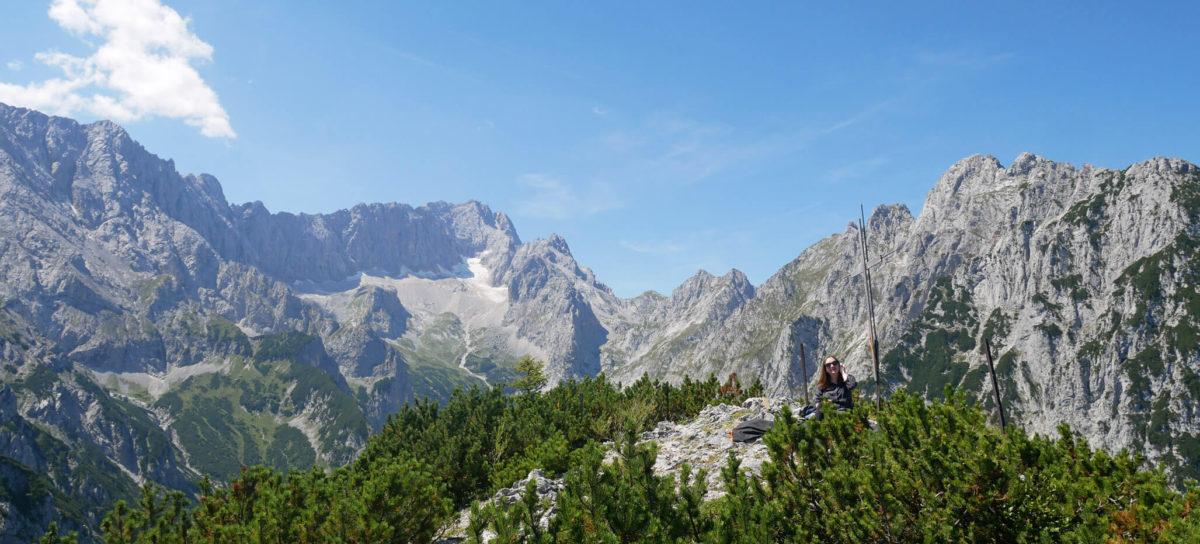 Schwarzenkopf Ausblick Garmisch