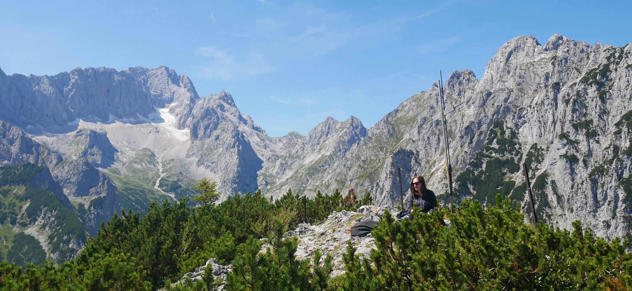 Schwarzenkopf Garmisch Gipfel
