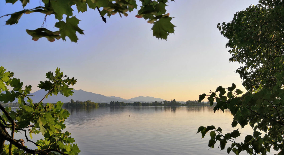 Staffelsee abends