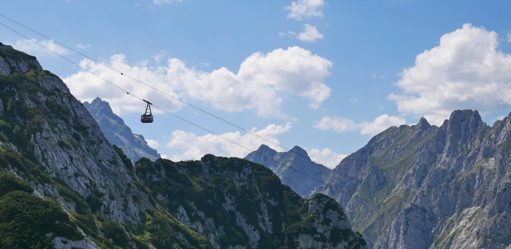 Wettersteingebirge Osterfelderbahn