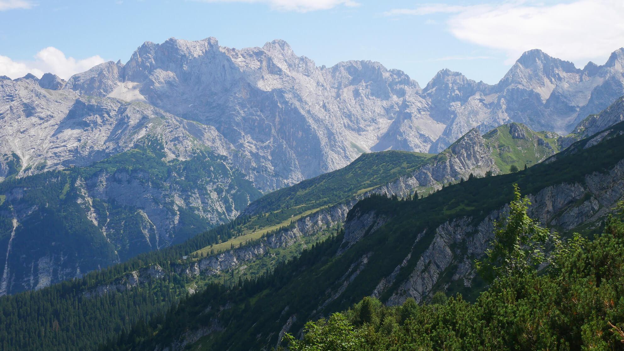 Wettersteinmassiv Garmisch Partenkirchen