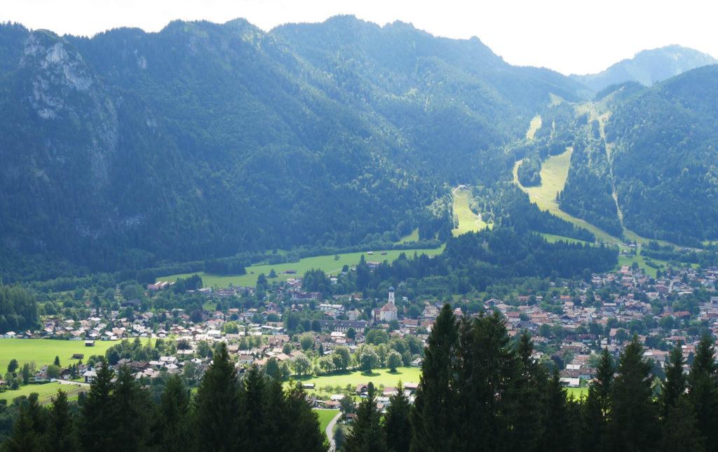 Aufacker Blick Oberammergau(1)