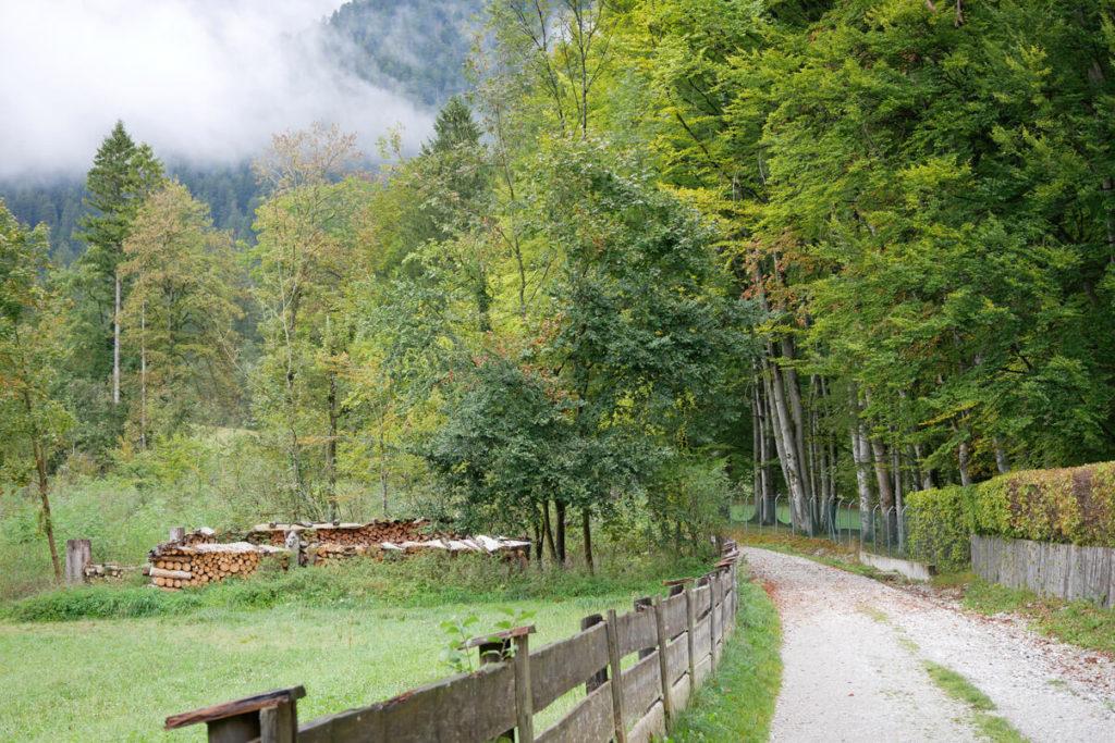 Kriegergedächtniskapelle Garmisch Weg