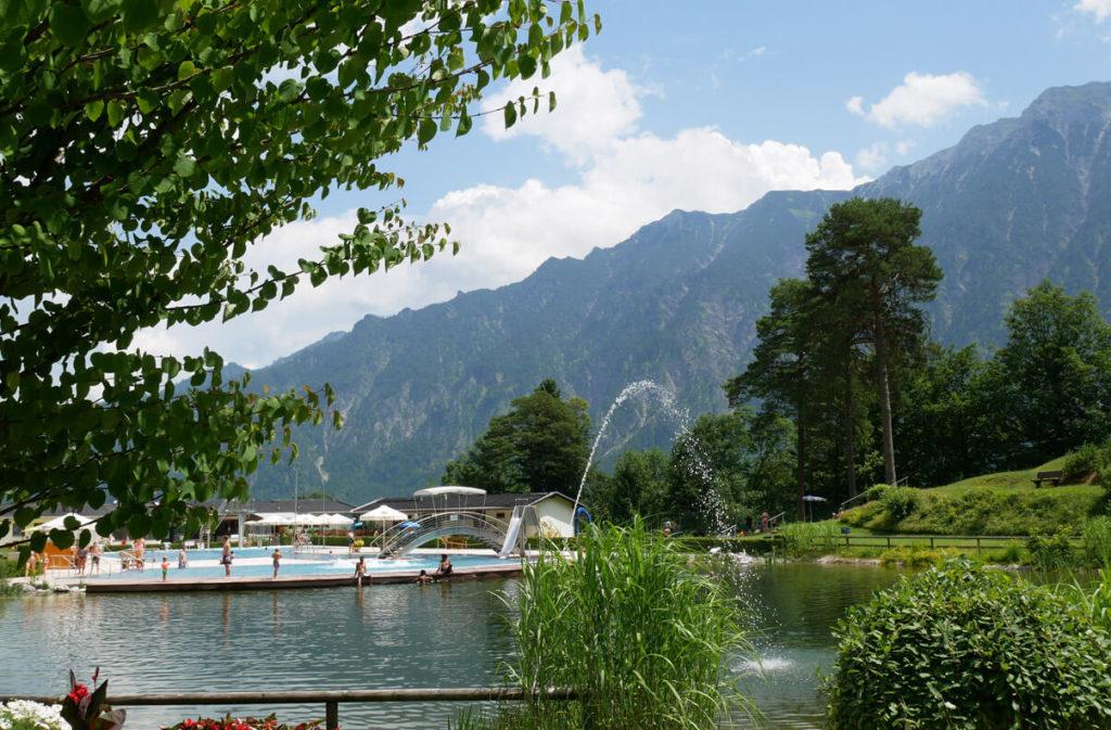 Schwimmbad Oberau Natursee