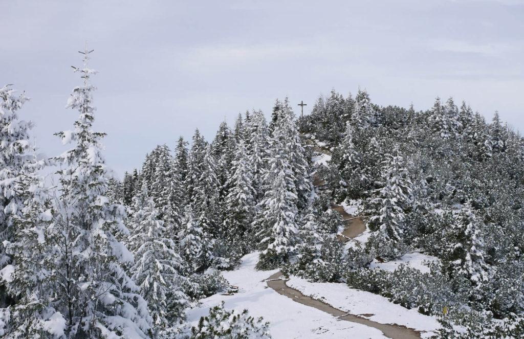 Wank Schnee Oktober