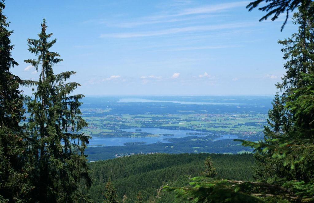 Ausblick Aufacker Staffelsee