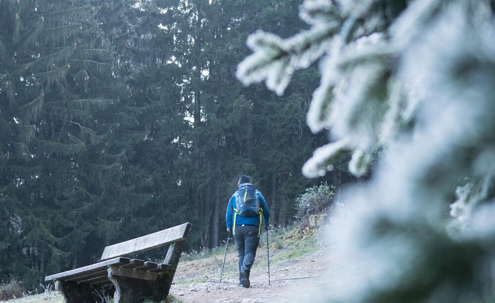 Hörnle Frost Wanderweg