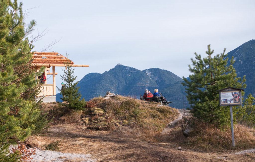 Krepelschrofen Hütte Gipfel