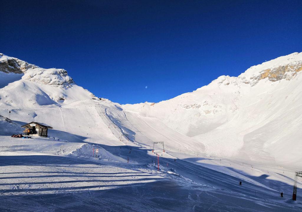 Zugspitze Gletscher Abfahrt
