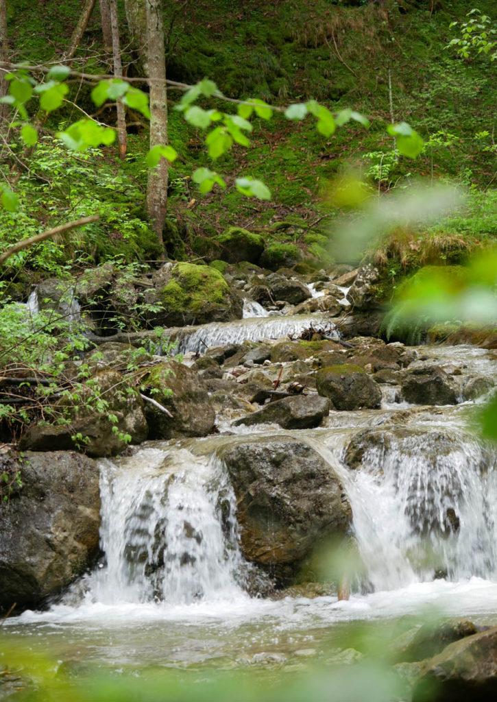 kolbensattelhütte wanderung wasserfall