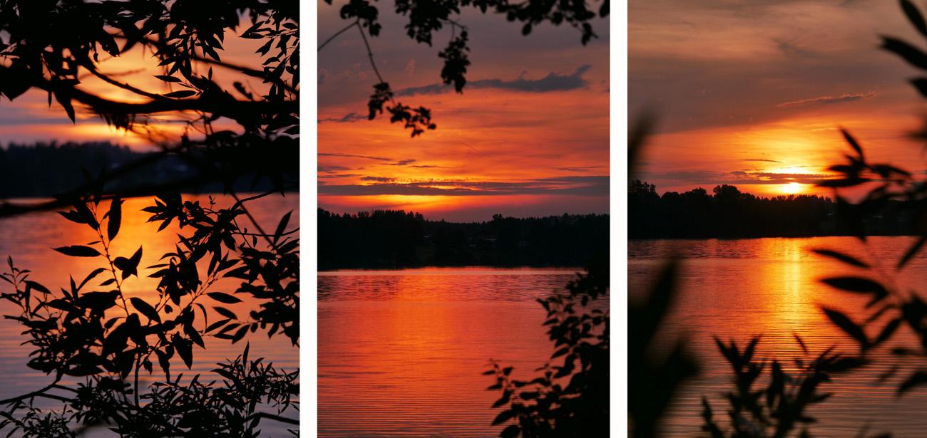 Riegsee Sonnenuntergang