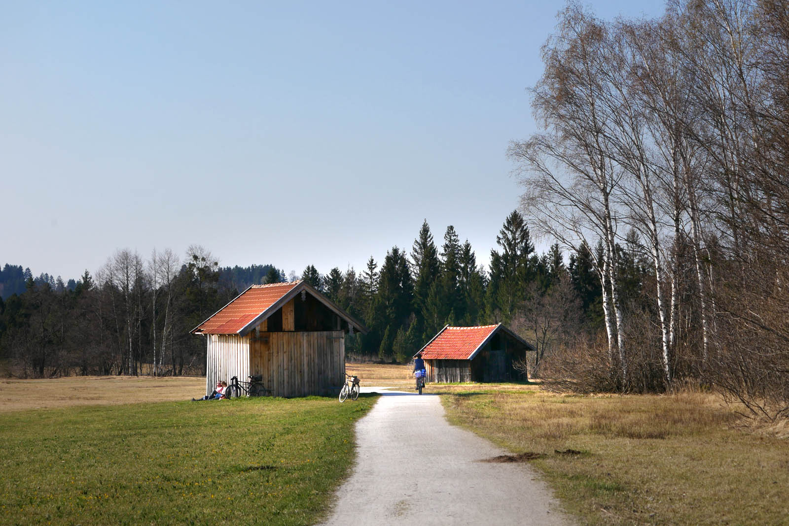 Staffelsee westufer weg